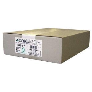 エーワン ラベルシール[レーザープリンタ]四辺余白付 (A4サイズ・10面・500枚) 28647