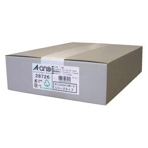 エーワン パソコンプリンタ&ワープロラベル(A4サイズ・14面・500シート) 28726