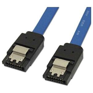 アイネックス ラッチ付 シリアルATAケーブル(ブルー・50cm) SAT‐3105BL
