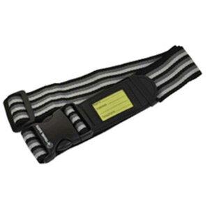 TRAVELEARTH スーツケースベルト(ブラック) TE‐024