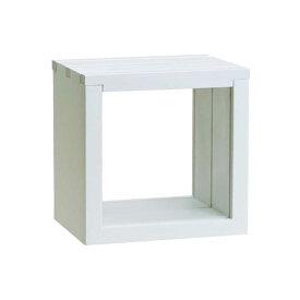 万丈 3スライドBOX フロート 10角 ホワイト 3SLFL-10WH
