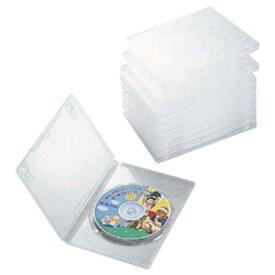 エレコム DVDトールケース(1枚収納/10枚セット)【クリア】 CCD−DVD03CR
