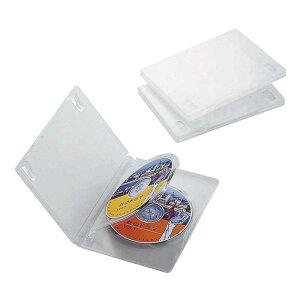 エレコム ELECOM DVDトールケース(3枚収納/3枚セット)「クリア」 CCD‐DVD07CR