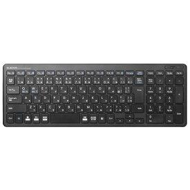 エレコム ELECOM ワイヤレスコンパクトキーボード/パンタグラフ式/ブラック TK-FDP099TBK