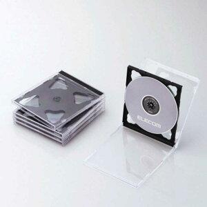 Blu-ray/DVD/CDケース 標準/PS/2枚収納 CCD-JSCNW5