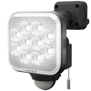 ライテックス 12W×1灯フリーアーム式LEDセンサーライト CAC12