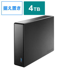 IOデータ 外付けHDD [据え置き型 /4TB] HDJA-UT4RW