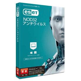 キヤノンITソリューションズ ESET NOD32アンチウイルス 更新 1年1ライセンス [Win・Mac用] CMJND14002