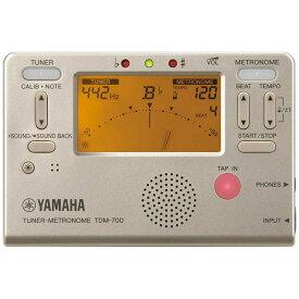 ヤマハ YAMAHA チューナー・メトロノーム TDM-700G ゴールド