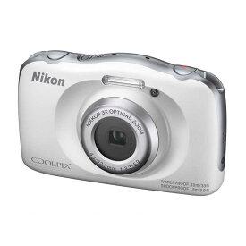 ニコン Nikon コンパクトデジタルカメラ [防水+防塵+耐衝撃] W150 ホワイト