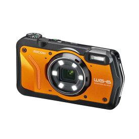 リコー RICOH コンパクトデジタルカメラ [防水+防塵+耐衝撃] WG-6 オレンジ