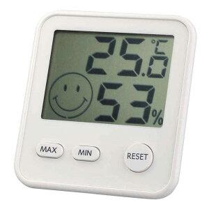 エンペックス エンペックス 「おうちルーム デジタルmidi温湿度計」 TD8411 白