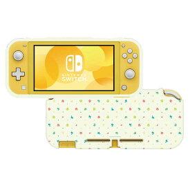 HORI TPUセミハードカバー for Nintendo Switch Lite あつまれどうぶつの森 TPUセミハードカバーNSLite NS2-060