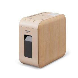 アイリスオーヤマ IRIS OHYAMA 超静音シュレッダー ベージュ[マイクロクロスカット/A4サイズ/CDカット対応] KP4HMS-C