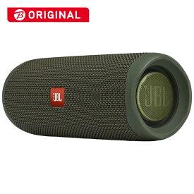 JBL ブルートゥース スピーカー Flip 5 JBLFLIP5GREN グリーン [Bluetooth対応 /防水]