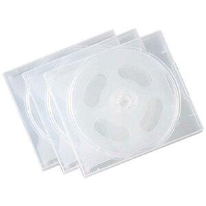 サンワサプライ 18枚収納 DVD・CDケース(ホワイト) FCD-61CN