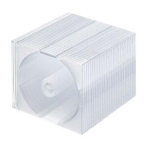 サンワサプライ Blu−ray・DVD・CDケース(2枚収納スリムタイプ・30枚セット・クリア) FCD-PUW30CL