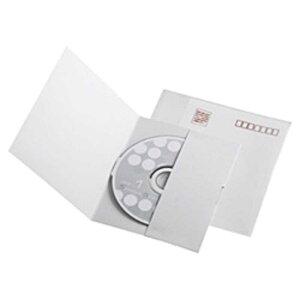 サンワサプライ 郵送メールケース ポケットタイプ(CD/DVD・1枚収納×10枚セット) FCD‐DM5