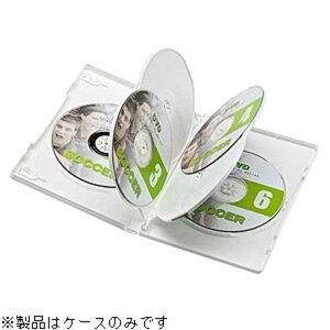 サンワサプライ CD/DVD/Blu−ray対応収納トールケース (6枚収納×3セット) DVD‐TN6‐03W (ホワイト)