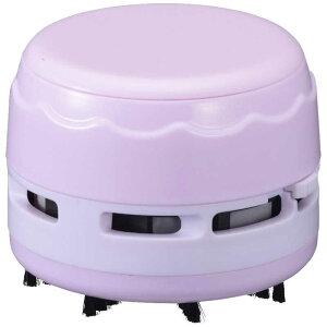 オーム電機 乾電池式卓上そうじ機 JIM-C02-P ピンク