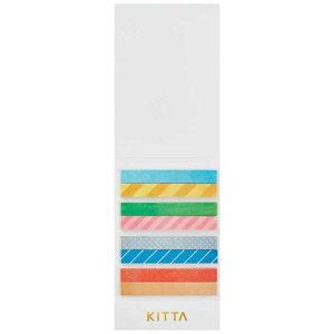 キングジム [マスキングテープ]KITTA(キッタ)スリム ミックス KITS001
