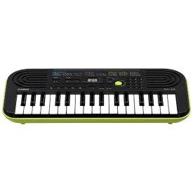 カシオ CASIO ミニキーボード (ブラック/グリーン・32ミニ鍵盤) SA-46