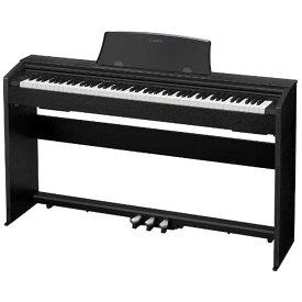 カシオ CASIO 電子ピアノ Privia(プリヴィア)(88鍵盤) PX-770BK (ブラックウッド調)(標準設置無料)
