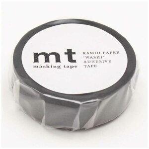 カモ井加工紙 「マスキングテープ」mt 1P(マットグレー) MT01P405