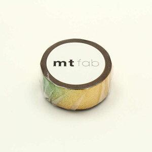 カモ井加工紙 「マスキングテープ」mt fab ピース・ゴールド MTHK1P10