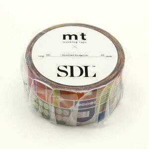 カモ井加工紙 「マスキングテープ」Stockholm Design Lab Remixed shapes MTSDL03