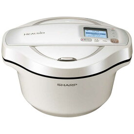 シャープ SHARP 水なし自動調理鍋 HEALSIO(ヘルシオ)ホットクック ホワイト KN-HW24F-W