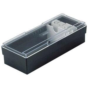 セキセイ ネームカードボックス CB-700-00ブラック(BK)