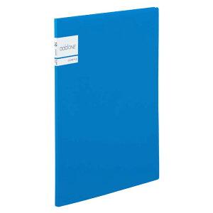 セキセイ アドワン クリヤーファイル A4−S 10ポケット ブルー AD2011(ブル