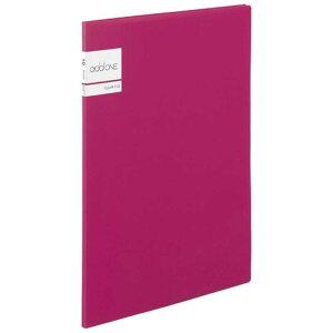 セキセイ アドワン クリヤーファイル A4−S 10ポケット ピンク AD2011(ピン
