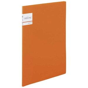 セキセイ アドワン クリヤーファイル A4−S 10ポケット オレンジ AD2011(オレン
