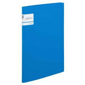 セキセイ アドワン クリヤーファイル A4−S 20ポケット ブルー AD2021(ブル