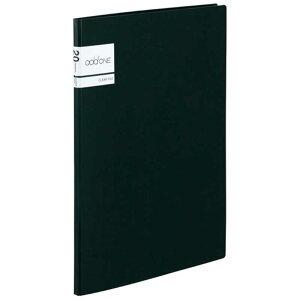 セキセイ アドワン クリヤーファイル A4−S 20ポケット ブラック AD2021(ブラ