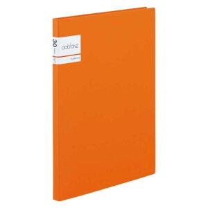 セキセイ アドワン クリヤーファイル A4−S 30ポケット オレンジ AD2031(オレン