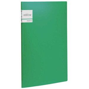 セキセイ アドワン ポケットファイル A4 5ポケット AD-2645 グリーン