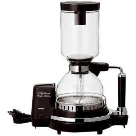 ツインバード TWINBIRD サイフォン式コーヒーメーカー(4杯) CM‐D854BR (ブラウン)