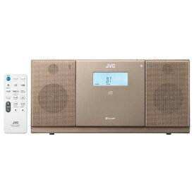 JVC CDラジオ(ラジオ+CD) 「ワイドFM対応」 NX-PB30-T (ブラウン)