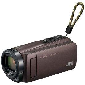 JVC SD対応 32GBメモリー内蔵フルハイビジョンビデオカメラ GZ-F270-T (ブラウン)
