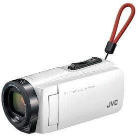 JVC SD対応 32GBメモリー内蔵フルハイビジョンビデオカメラ GZ-F270-W (ホワイト)