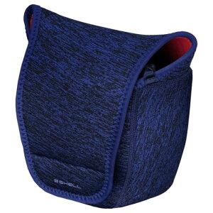 ハクバ プラスシェル スリムフィットカメラケース02 L ブルー ハクバ ブルー SP-SF-CC02LBL