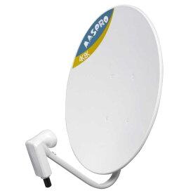 マスプロアンテナ 4K・8K衛星放送対応 BS・110度CS デジタルアンテナ BC45RL(金具別売)
