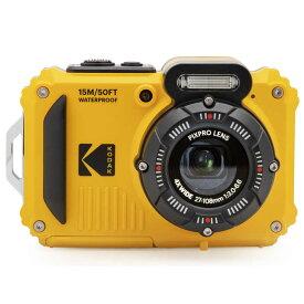 コダック コンパクトデジタルカメラ【防水+防塵+耐衝撃】 スポーツカメラ PIXPRO イエロー WPZ2