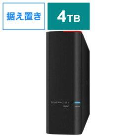 BUFFALO ドライブステーションプロ HDD買い替え推奨通知機能搭載 USB3.0用外付ハードディスク HDSH4TU3 4TB