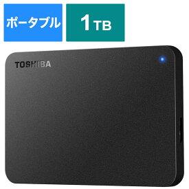 BUFFALO USB3 0対応ポータブルHDD 東芝製 Canvio BASIC 1 0TB HD-TPA1U3-B ブラック