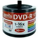 HIDISC 録画用DVD−R HIDISC [50枚/4.7GB/インクジェットプリンター対応] HDDR12JCP50SB2