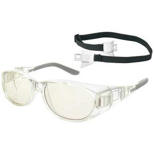名古屋眼鏡 (保護メガネ)メオガードネオ24 Mサイズ 8957-01(クリア)